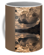 Strange Clouds Reflected Coffee Mug