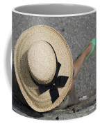 Straw Hat And Green Shoes Coffee Mug