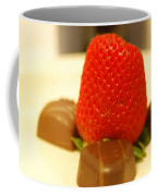 Strawberry And Chocolate Coffee Mug