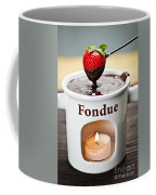 Strawberry Dipped In Chocolate Fondue Coffee Mug