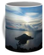 Streaks Above The Wizard Coffee Mug