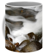 Stream Flowing Over Rocks Coffee Mug
