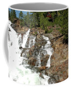 Streaming Glen Alpine Falls Coffee Mug
