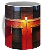 Street Lamp Cafe Coffee Mug
