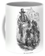 Street Musician, 1850 Coffee Mug