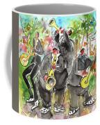 Street Musicians In Cyprus Coffee Mug