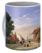 Street Scene Coffee Mug by Danish School