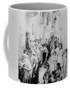 Street Scene In Athens Greece - C 1919 Coffee Mug