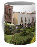 Street Scene In Plaza De La Paz Coffee Mug