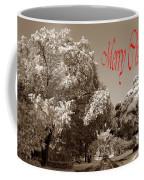 Street Scene Merry Christmas Coffee Mug