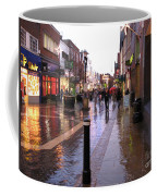 Street Scene Outside Windsor Castle Coffee Mug