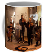 Street String Quartet Coffee Mug