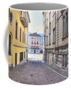 Street With Houses Coffee Mug