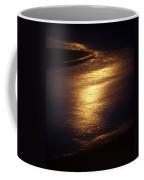 Gold Water On The Street Coffee Mug