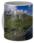 String Lake Panorama Coffee Mug