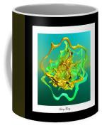 String Theory D Coffee Mug