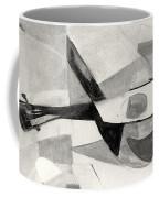 Stringed Instrument On Table Coffee Mug