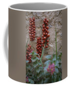 Strings Of Tomatoes Dry On A Wall Coffee Mug by Tino Soriano