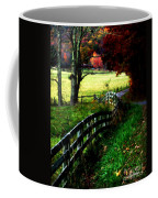 Strolling Down The Old Country Road Coffee Mug