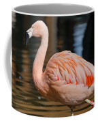 Strolling Flamingo Coffee Mug