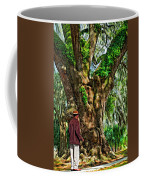 Strolling With Giants Painted Coffee Mug