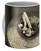 Stubbed Out. Coffee Mug