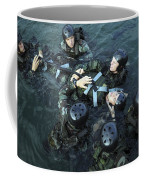 Students Secure A Simulated Casualty Coffee Mug
