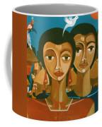 Study For Love Is Like A Bird Coffee Mug