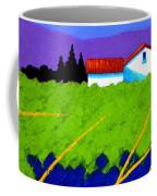 Study For Provence Painting Coffee Mug