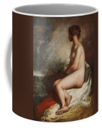 Study Of A Seated Nude Coffee Mug