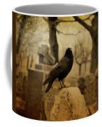 Study Of The Surly Raven Coffee Mug