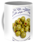 Stuffed Green Olives Coffee Mug