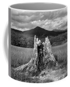 Stump In A Field Coffee Mug