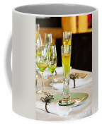Stylish Dining Table Arrangement Coffee Mug