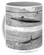 Submarine Launch, 1890 Coffee Mug