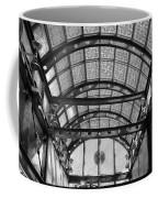 Subway Glass Station In Black And White Coffee Mug