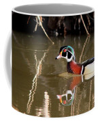 Sucarnoochee River - Suspicious Wood Duck Coffee Mug