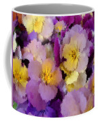 Sugared Pansies Coffee Mug