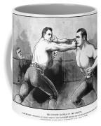 Sullivan Vs. Kilrain, 1889 Coffee Mug