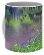 Summer Abstract At Tipsoo Lake Coffee Mug