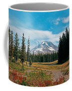 Summer At Mt. Hood In Oregon Coffee Mug