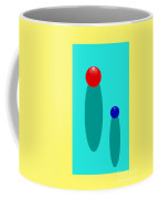 Summer Balls Red And Blue Coffee Mug
