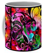 Summer Introspection Of An Extrovert Triptych Horizontal Coffee Mug