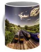 Summer Saturday At Aller Junction Coffee Mug by Rob Hawkins