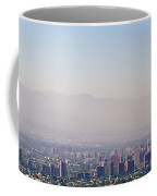 Summer Smog And Pollution In Santiagos Coffee Mug