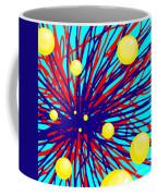 Summer Splat With Yellow Balls Coffee Mug