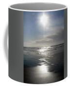 Sun And Silver Sea Coffee Mug