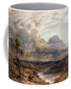 Sun Behind Clouds Coffee Mug by John Linnell