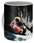 Sun Dappled Pottery Coffee Mug by Jeff Swan