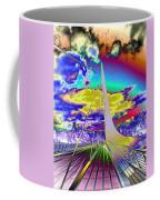 Sun Dial Bridge Redding Ca   Coffee Mug